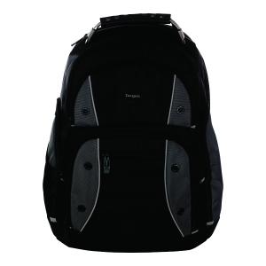 Targus DrifterTrek Laptop USB rugzak zwart 15.6 -17.3
