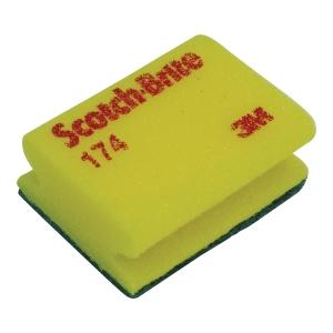 Scotch-Brite™ 174 synthetische spons en schuurspons, pak van 20 stuks