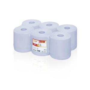 Satino Comfort poetsrollen - 1-laags - 300 meter - pak van 6