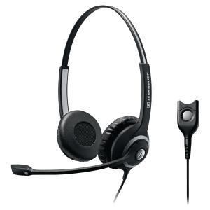 Sennheiser SC260  telefoon headset met snoer, binauraal met 2 oorschelpen