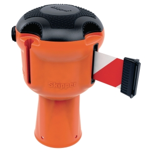 Skipper™ Unit oranje met lint Rood/Wit