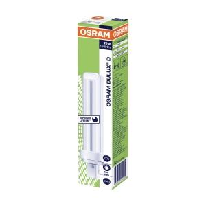 Osram Dulux D compact fluorescentie lamp 10 W/840