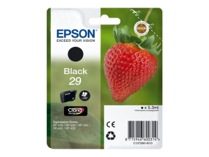 Epson C13T29814010 inkt cartridge, zwart
