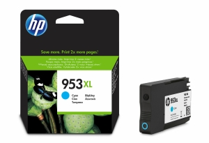 HP F6U16AE ink cartridge nr.953XL High Capacity blue [1.600 pages]