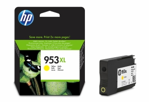 HP F6U18AE ink cartridge nr.953XL High Capacity yellow [1.600 pages]