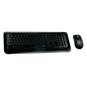 Microsoft Desktop 850 draadloos toetsenbord zwart - Azerty België