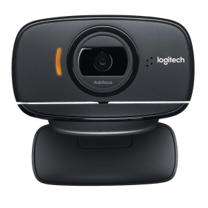 Logitech B525 HD webcam, zwart