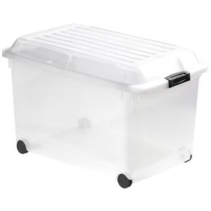 Curver Multiboxx Multi-storage box met deksel en wielen 70L