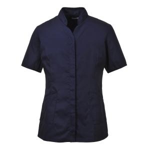 Portwest LW12  tuniek dames, polyester/katoen, marineblauw, maat XXL, per stuk