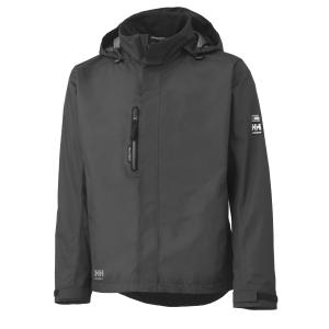 Helly Hansen Haag shell jacket charcoal - size 3XL