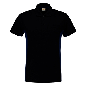Tricorp TP2000 Bi-color polo navy/koningsblauw - maat XS