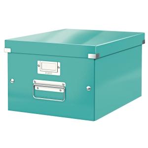 Leitz WOW Click & Store box m ijsblauw