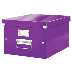 Leitz WOW Click & Store box M paars