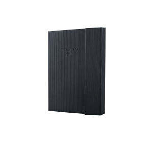 Sigel Conceptum notitieboek met magneetsluiting A6 zwart