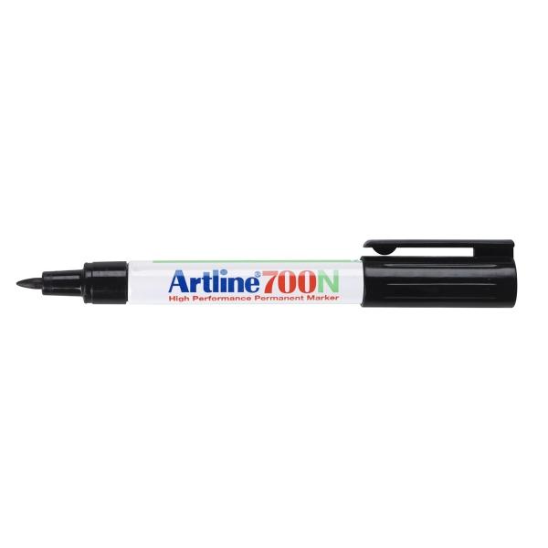 Artline 700N marqueur permanent pointe ogive 0,7mm noir