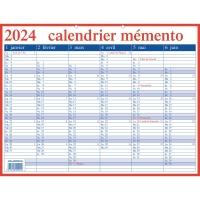 Aurora calendrier Memento FR 33x42cm