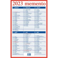 Aurora calendrier Memento NL 21x33cm