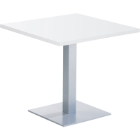 Table de snack EOL ronde 120 x 73,5 cm blanc