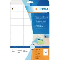 Herma 4685 étiquettes transparentes 70x37mm - boite de 600