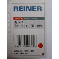 Reiner B2 recharge color box numéroteur type 1 rouge