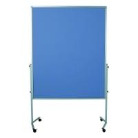 Legamaster Premium Mobile  Tableau moderation feutre 150x120 cm bleu/gris
