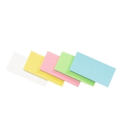 Legamaster cartes moderation rectangulaires couleurs assorti - paquet de 500