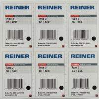 Reiner B6 recharge color box numéroteur type 2 noir