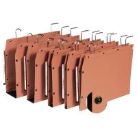 Elba dossiers suspendus TUB armoires fond V 330/250 orange - boîte de 25