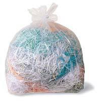 Rexel AS100 sacs collecteurs destructeur de papier 50 litres - paquet de 100