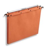 Elba dossiers suspendus AZO tiroirs 15mm 330/250 orange - boîte de 25
