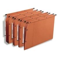 Elba dossiers suspendus AZV pour armoires 15mm 330/275 orange - boîte de 25