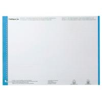 Elba feuilles de lecture dossier suspendu nr.0 tiroir bleu - paquet de 10