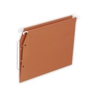 Lyreco dossiers suspendus pour armoires fond V 330/275 orange - boîte de 25
