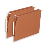 Lyreco Budget dossiers suspendus armoires fond V 330/275 orange - boîte de 25