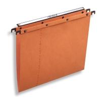 Elba dossiers suspendus AZO tiroirs fond V 365/250 orange - boîte de 25