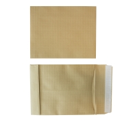 Gascofil pochettes indéchirables 260x330x50mm 130g brunes - boite de 50