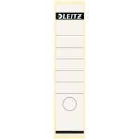 Leitz 1640 étiquettes autocollantes pour classeurs 61mm blanches - paquet de 10