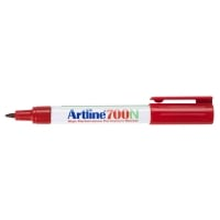 Artline 700N marqueur permanent pointe ogive 0,7mm rouge