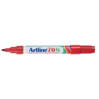Artline 70N marqueur permanent pointe ogive 1,5 mm rouge