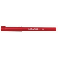 Artline fineliner 200 0,4mm rouge