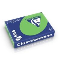 Clairefontaine Trophée 1025 papier couleur A4 160g vert menthe-ram. de 250 flls