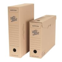 Loeff s Patent boîtes d archives Quickbox A4 carton 24x33,5x8 - paquet de 50