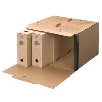 Loeff s Patent boîtes d archives carton ondulé 42,5x27,5x37cm - paq de 15