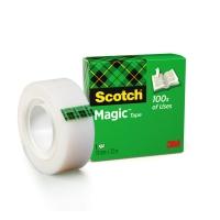 Scotch Magic 810 ruban adhésif invisible 19mmx33 m