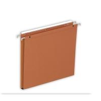 Lyreco dossiers suspendus pour tiroirs 15mm 330/250 orange - boîte de 25