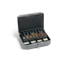 Durable coffre à monnaie avec tiroir 270x350x120mm euro