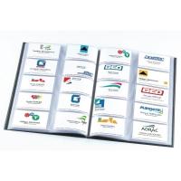 Elba carnet cartes de visite A4 pour 400 cartes