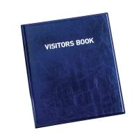 Durable 1463 livre des visiteurs avec 100 badges anglais