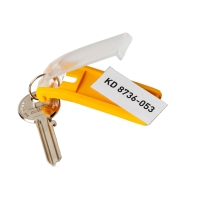 Durable key-clip porte-clés assorti - paquet de 6