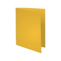 Exacompta Foldyne fardes chemise carton 180g jaune - paquet de 100